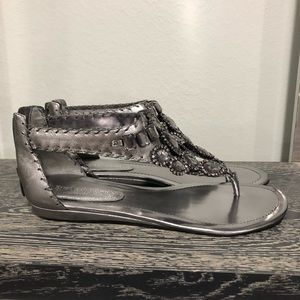 Enzo Angiolini Shoes - Bnnw Enzo Angiolini sandals in pewter Sz 7.5m
